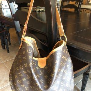 Authentic Louis Vuitton Delightful MM Handbag